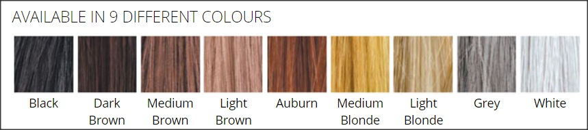 Toppik Hair Colours