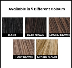 Toppik Hair Fibre colours from hairlossireland.ie
