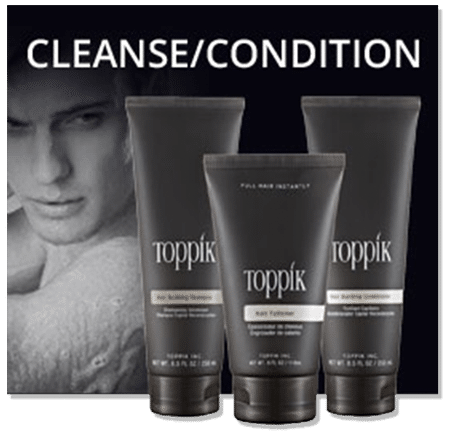 Helping you with your hair loss problems Toppik Shampoo works just great